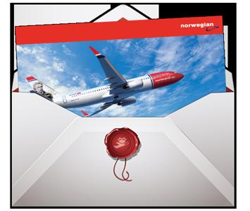 Innløse gavekort norwegian