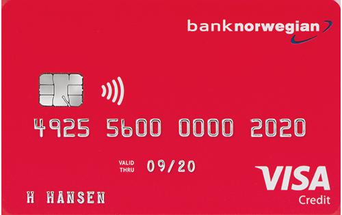 Visa Luottokortti